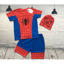 Bộ lửng người nhện spiderman tặng kèm nón