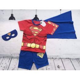 Bộ áo thun siêu nhân cho bé trai