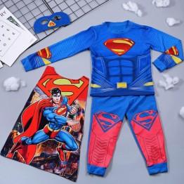 Bộ hóa trang siêu nhân Superman - tặng áo choàng và mặt nạ