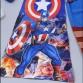 Bộ hóa trang siêu nhân đội trưởng mỹ Captain - tặng áo choàng và mặt nạ