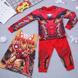 Bộ hóa trang siêu nhân người sắt Ironman - tặng áo choàng và mặt nạ