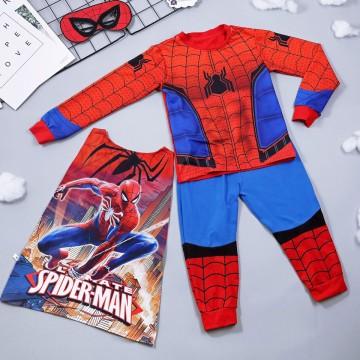 Bộ hóa trang siêu nhân nhện Spiderman - tặng áo choàng và mặt nạ