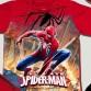 Bộ hóa trang siêu nhân Nhện Spiderman 3D comic - tặng áo choàng và mặt nạ