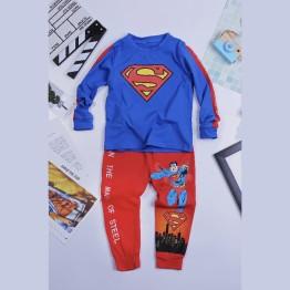 Quần áo siêu nhân tay dài Superman Comic cho bé