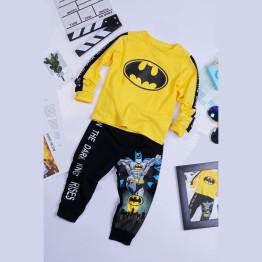 Quần áo siêu nhân tay dài Batman Comic cho bé
