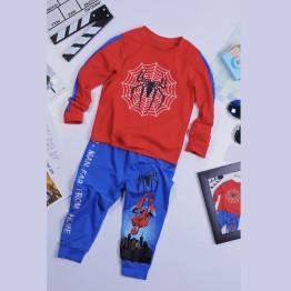 Quần áo siêu nhân nhện tay dài Spiderman Comic cho bé