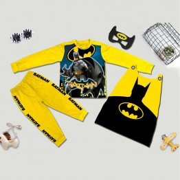 Bộ hóa trang siêu nhân người dơi Batman 3D comic - tặng áo choàng và mặt nạ