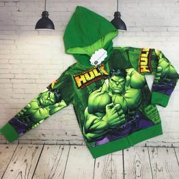 Áo khoác người khổng lồ Comic Hulk cho bé trai từ 11kg - 39kg