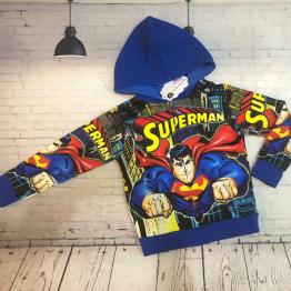 Áo khoác siêu nhân Comic Superman cho bé trai từ 11kg - 39kg