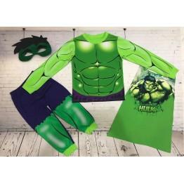 Đồ siêu nhân tay dài in 3D người khổng lồ Hulk bé trai từ 11kg - 28kg