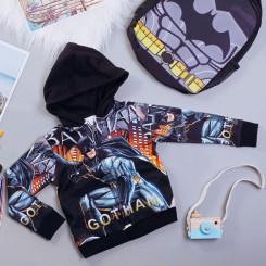 Áo khoác siêu nhân người dơi Bat man comic cao cấp cho bé