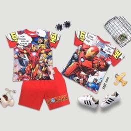 Đồ bộ lửng siêu nhân người sắt 3D Ironman truyện tranh