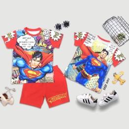 Đồ bộ lửng siêu nhân 3D Superman truyện tranh