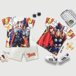 Đồ bộ lửng siêu nhân 3D Thor truyện tranh