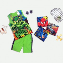 Đồ bộ sát nách siêu nhân Hulk 3D