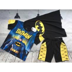 Bộ áo thun Batman đèn cảm ứng cho bé trai
