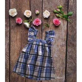 Đầm caro cho bé gái (12kg - 23kg) kiểu dáng xinh xắn